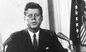 JF Kennedy in Berlin in 1963.