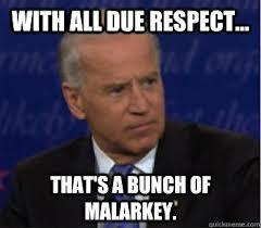 Joe Biden paying his respects